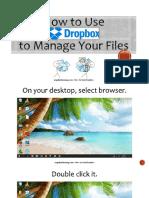 How to Use Dropbox_Angelica Banaag