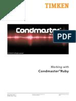 Condmaster Ruby 2012 User Guide