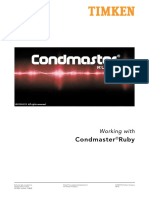 Condmaster Ruby 2012 User Guide