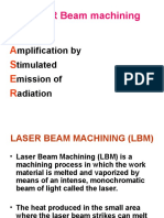 LASER Beam Machining 2103