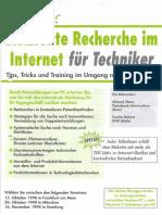 Seminar Effiziente Internet Recherche für Techniker