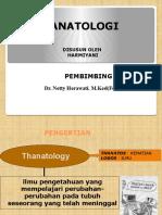 Tanatologi Slide