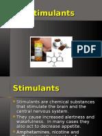 Stimulants- Gen Psychology