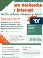 Seminar Effiziente Recherche Im Internet