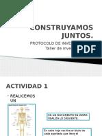 protocolo taller de investigacion