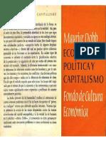 Dobb, Maurice - Economía Política y Capitalismo, Fondo de Cultura Económica, México, 1961