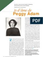 Les états d'âme de Peggy Adam