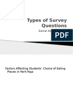 Types of Survey Questions2