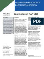 Policy Brief - Localization of NAP 1325.pdf