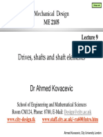 Drives, Shafts and Elements Lecture