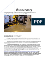 High Accuracy Robotics