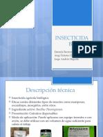 Insecticida articulo