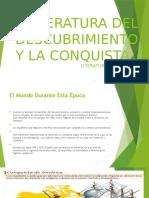 Literatura Del Descubrimiento y La Conquista Literatura Colombiana