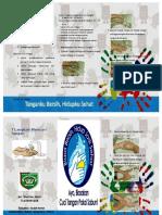 7 Langkah Cuci Tangan Leaflet