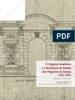 Império Brasileiro Secretarias e Marcos Importantes