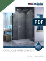SanSwiss Catalogue Tarif 2016-2017 FR
