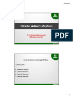 1 - Direito Administrativo - Prof. Daniel Lamounier