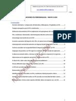 Investigaciones en Fibromialgia – MAYO 2010