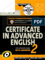 Certificate in Advanced English 2 (with answers)