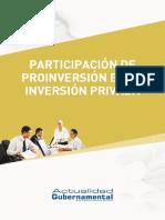 Participación de Proinversión en La Inversión Privada