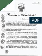 (2015) RM 626-2015-MINSA - Clima Organizacional (MINSA Perú)