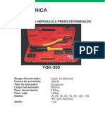 Prensaterminalhidraulicade16–300mm2(Hexagonal)Incluye8jgo.dedados