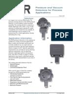 SOR Pressure and Vacuum Detectors Catalogue