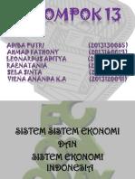 PIE Sistem Ekonomi