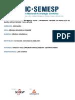 AVALIAÇÃO DO CONHECIMENTO SOBRE LEISHMANIOSE VISCERAL DA POPULAÇÃO DE BAURU.pdf