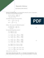 solucion de sistemas ecuacionales con Rk4