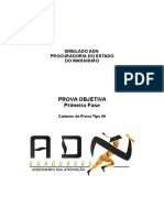 Simulado - Pge -Ma - ADN Concursos