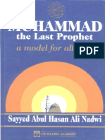 English Mohammad the Last Prophet a Model for All Time
