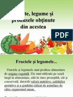 Fructe, Legume Și Produse Obținute-Merceologie