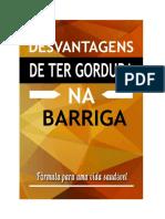 Desvantagens de Ter Gordura Na Barriga q48