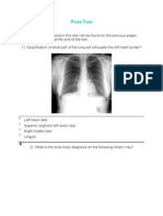 Radiology - Part 3 Post Test