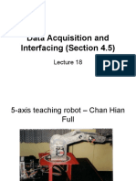 Lecture 18 Data Acquisition