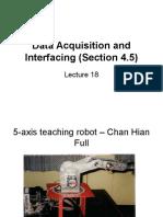 Lecture 18 Data Acquisition