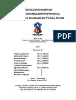 makalah psikologi komunikasi