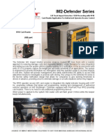 Forklift impact detection system, IM2 RFID 2P V2