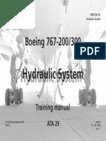 B767- Hydraulic System