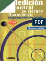 Medición y Control de Riesgos Financieros, 3ra Edición - Alfonso de Lara Haro