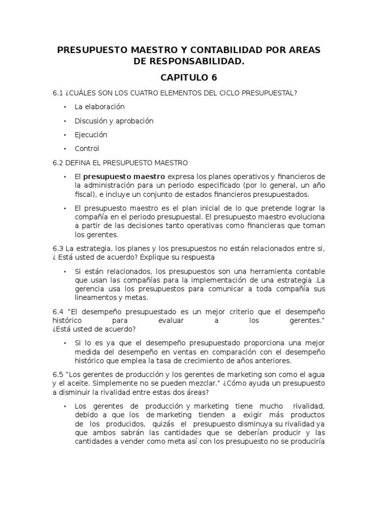 Bonito Resumen Maestro De Contabilidad Regalo - Ejemplo De Colección ...
