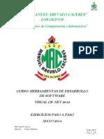 Ejercicios Paso a Paso C# Formulario