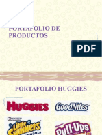 Portafolio de Productos Huggies
