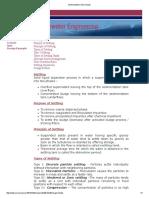 Sedimentation Tank Design Nptel