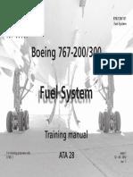 B767 - Fuel System
