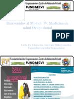 Modulo v Medicina en Salud Ocupacional 2016