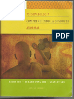 Conducta Anormal Psicopatologia Sue