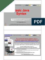 02 Basic Java Syntax