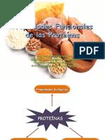 Propiedades funcionales de las proteinas 2016.ppt